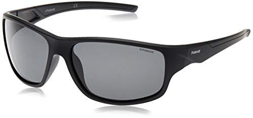 Polaroid PLD 7010/S M9 807 64 gafas de sol, Negro (Black/Grey Pz), Hombre