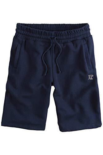JP 1880 Herren große Größen bis 8XL, Bermuda-Shorts, Kurze Jogginghose mit elastischem Bund, Sweat-Pants mit 2 Taschen Navy 3XL 702636 70-3XL