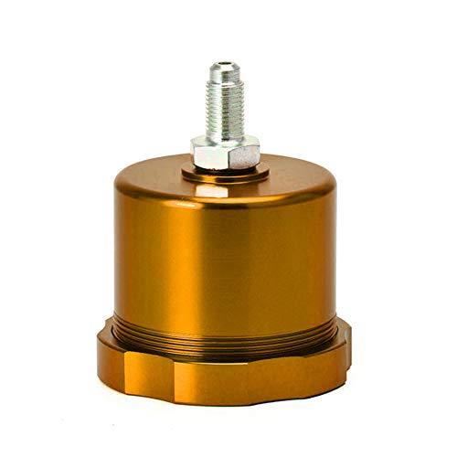 Universal Hydraulic Drift Handbremse Öltank,MoreChioce Racing Drift Hydraulische Handbremse Öltank Handbremsflüssigkeitsbehälter Flüssigkeitsbehälter,Gold