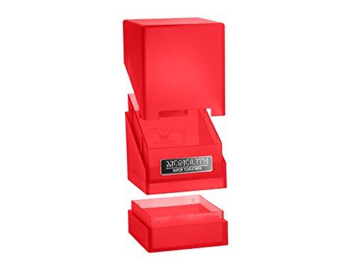 Ultimate Guard 100 Boîte à Cartes Taille Standard Rouge
