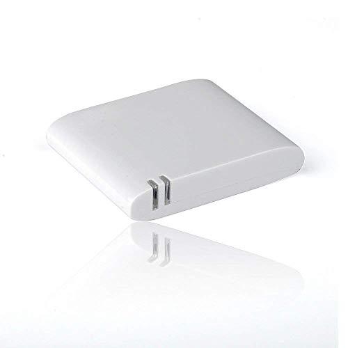 OKCS 30 poliger Bluetooth Audio Adapter Musik Receiver [ Sound Adapter - Dockingstation ] kompatibel für iPhone XR, XS, XS Max, X, 8, 8 Plus, 7, 7 Plus etc. - Weiß