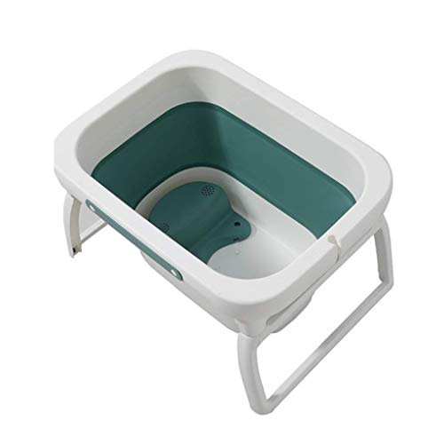 SMX Baby bad, Folding Infant badkuip, Portable Inklapbare Newborn Peuter Bath Ondersteuning for 0-8 jaar baby