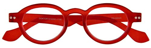 I NEED YOU Lesebrille Doktor Limited / +1.50 Dioptrien / Rot