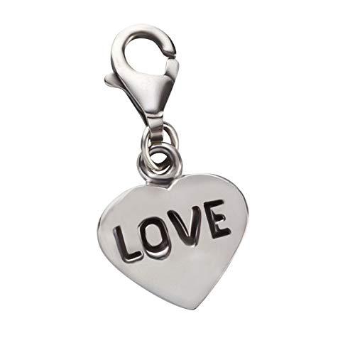 FIVE-D Charm Liebe Love Glück 925 Sterling Silber im Schmucketui Armband Anhänger Bettelarmband