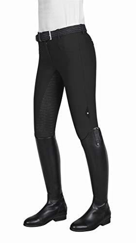 Equiline Cedar Fullgrip - Pantaloni da Equitazione, da Donna, Taglia 48, Colore: Nero