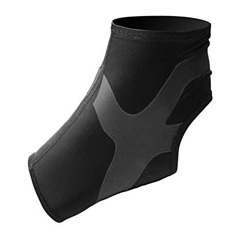 Antar AT53041 MR Sprunggelenk Bandage mit Tapes für Rechtes Bein, mittel, schwarz, 30 g