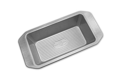 USA Pan American Bakeware Classics 1-Pound Loaf Pan, Aluminized Steel, 1 Pound
