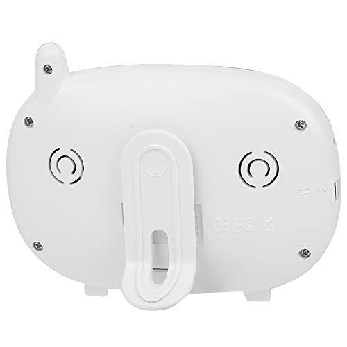 Jacksing Monitor de bebé, Monitor de bebé con cámara de intercomunicación inalámbrica de 3,5 Pulgadas, para habitación de bebé de Dormitorio(European Power Supply, Baby Monitor, Transl)