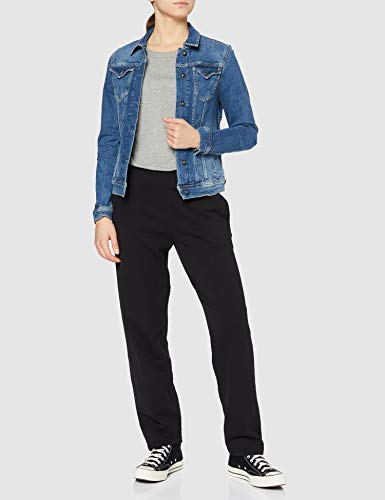 Pepe Jeans Thrift PL400755CF7 Chaqueta Vaquera, Azul (Denim CF7), Small para Mujer