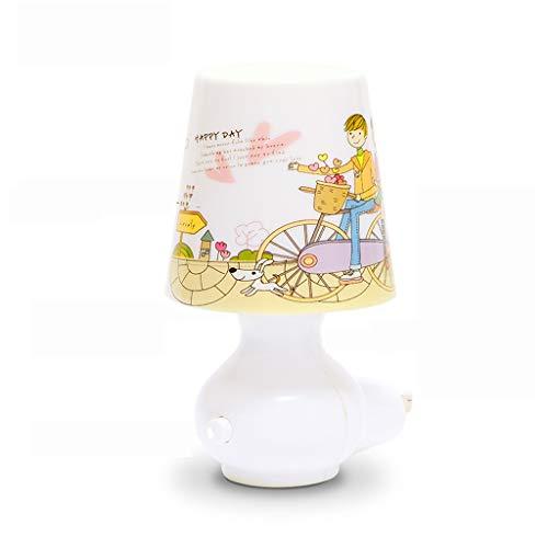 Plug-in LED Télécommande Commutateur Creative Sommeil Veilleuse Chambre Lampe De Chevet Veilleuse