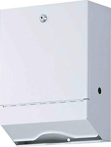 FORMAT 4000735700707–Wepa Falthandtuchspender 35x 26,5x 13cm Metall Weiñ