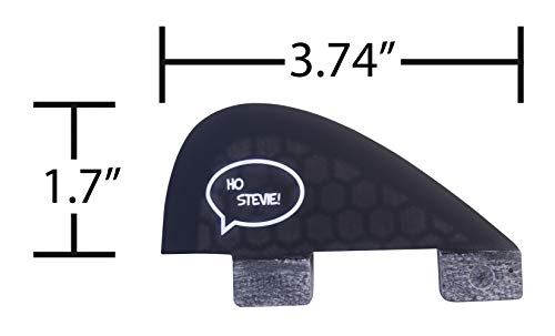 Ho Stevie! Stabilizer Surfboard Fin (Center/5th Fin) FCS or Futures Sizes + Fin Key and Screws 4 🏄♂️ The 5th stabilizer fins adds more control and smoothness to your quad fin setup. 🔩 FIN KEY and SCREWS INCLUDED. Choose from Futures or FCS. (FCS will work with FCS II plugs) ⚖️ LIGHTWEIGHT Honeycomb Fiberglass construction. Perfectly matches our Honeycomb Fiberglass quad surfboard fins.