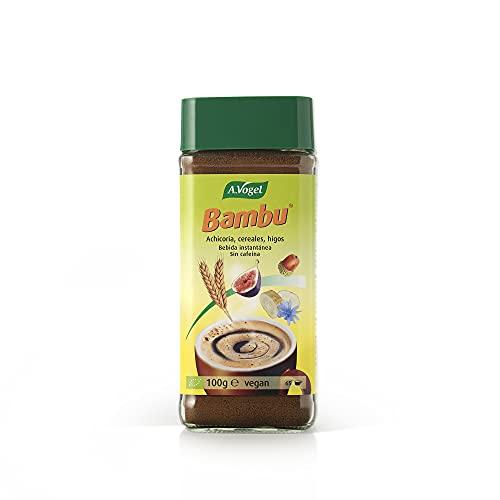 Bambú® | Sustitutivo natural del café BIO con achicoria, cereales e higos madurados al sol | Sin cafeína | 100 g | A.Vogel