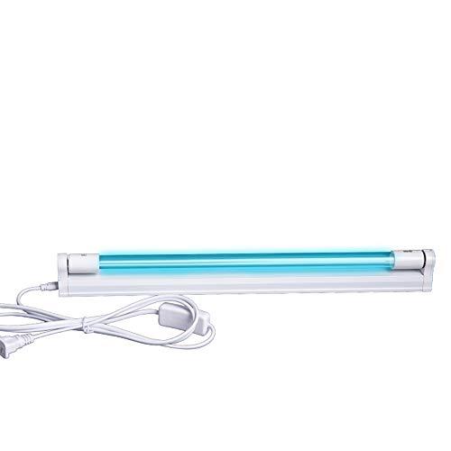 Lampada di Disinfezione, Lampade Germicide A Tubo al Quarzo UV per Uso Domestico, Depuratori d'Aria per Interni, Luce UV con Ozono