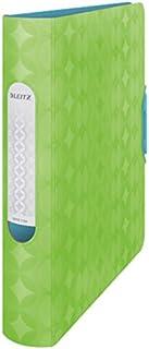 Leitz Lever Arch File, Retro Chic Range, 6 cm Width, 11340050 - A4, Neon Green