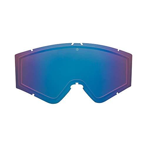 Electric Kleveland Lens Ski Goggles, Brose/Blue Chrome