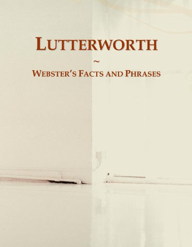 Lutterworth: Webster's Facts and Phrases