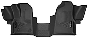 Husky Liners - 53481 Fits 2015-19 Ford Transit-150 2015-19 Ford Transit-250 2015-19 Ford Transit-350 X-act Contour Front Floor Mats Black