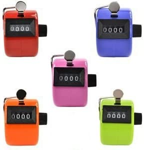 Somnr Assorted Color Handheld Tally Display Golf 4 New Free Shipping Counter Digit outlet