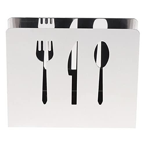 beizi Ihålig rostfritt stål servetthållare låda servetthållare organiserare näsduksdispenser förvaringsfodral bordsdekoration hemmafest (färg: 02)