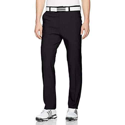 adidas Golf 2017 Mens Climawarm Breathable Thermal Pants Performance Golf Trousers Black 38x30