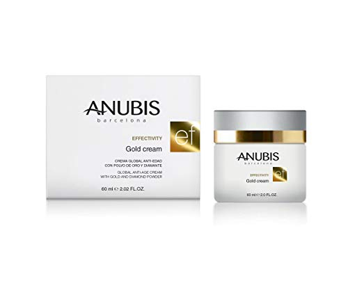 Anubis - Efectivity Gold cream - Crema global anti-edad con polvo de oro y diamante - 60 ml