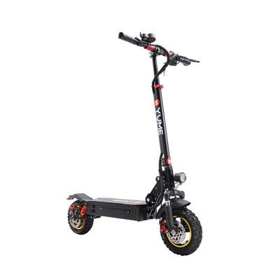 Yume YM10S 48V 1000W 10 Pulgadas Scooter eléctrico Plegable Todoterreno