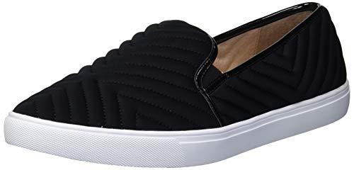 Donald J Pliner Women's Loafer Flat, BLACK,7.5 M US