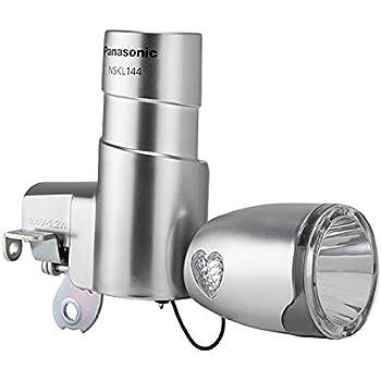 Amazon パナソニック Panasonic Led発電ランプ サイド7色イルミネーション搭載でかわいく光る チタンカラー Nskl144 T パナソニック Panasonic ヘッドライト