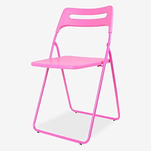 Paddia Besucherstuhl Konferenzstuhl schwarz faltbar Komfort Gaststuhl Mode kreative Bequeme Klapp Bürostuhl Schreibtischstuhl...