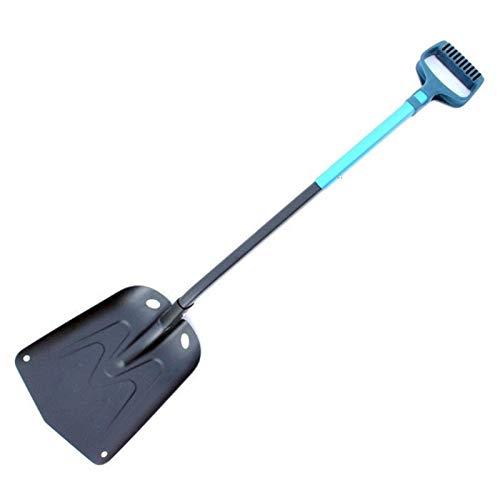 N\A Cars Ice Scraper, Aluminum Light Snow Shovel For Car Emergency Detachable Snow Shovel Ice Scraper for Car