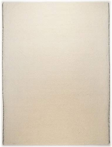 Theko Berber Teppich Weiss Grösse 250 x 350 cm