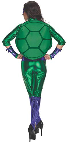 Nickelodeon Women's Teenage Mutant Ninja Turtles Donatello Costume Jumpsuit, Multi, Medium