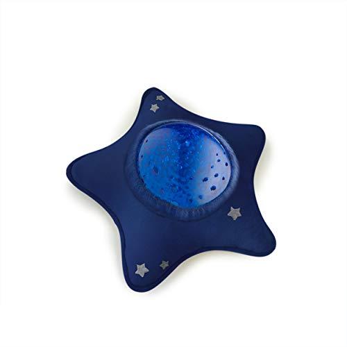 Pabobo - Calm Océan - Veilleuse Musicale Nomade et Projecteur Dynamique Aqua pour Bébé et Enfant - Bleu