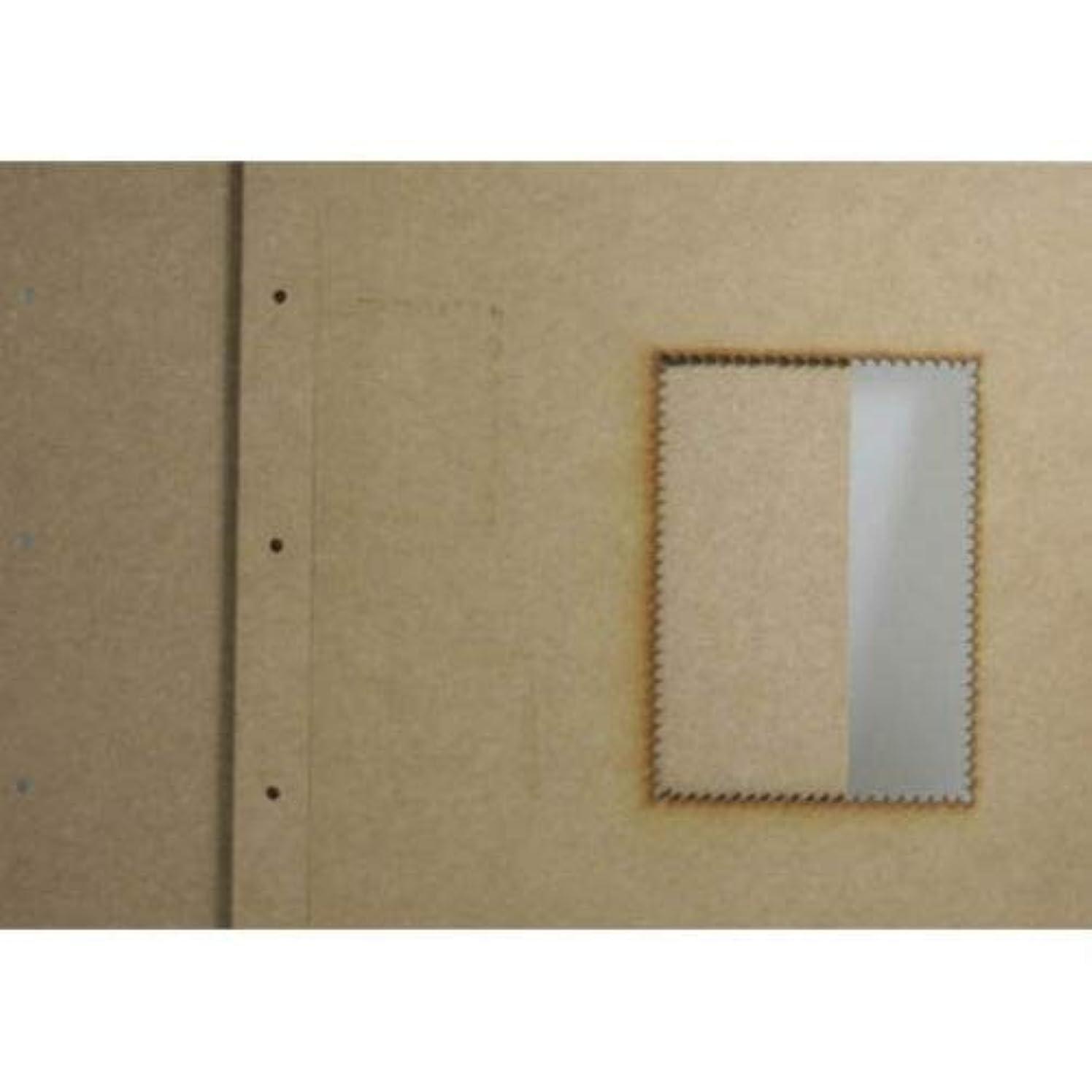 Dayka Trade Album, Wood, Multi-Colour, 8 x 5 cm