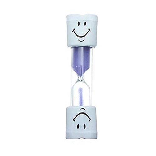 RICISUNG Brosse à dents pour enfants de 3 minutes avec sablier