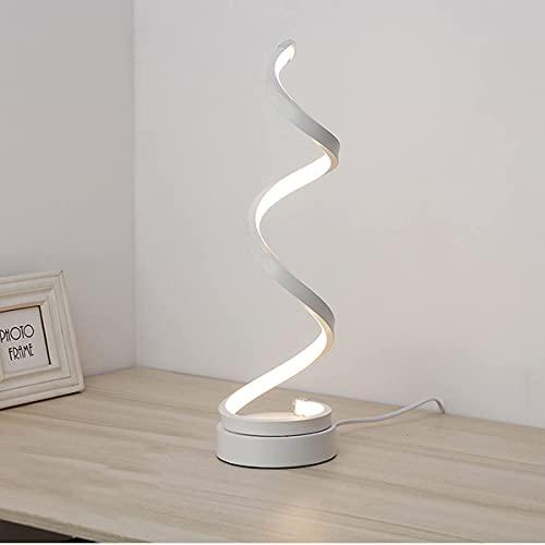 Lampada da tavolo comodino a LED scrivania Dimmerabile Lampada da tavolo con telecomando Efficienza energetica Protezione degli Lampada da lettura per 3 livelli di luminosità