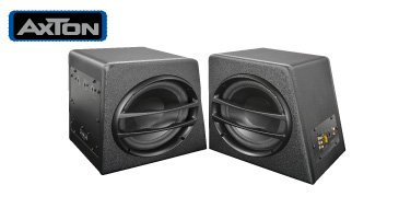 AXTON AXB20A Compact Subwoofer 20cm mit Amplifier