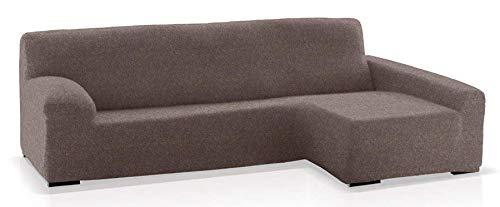 JM Textil Funda de sofá Chaise Longue Eneasis, Brazo Derecho, tamaño estándar (220-280 Cm.), Color 06