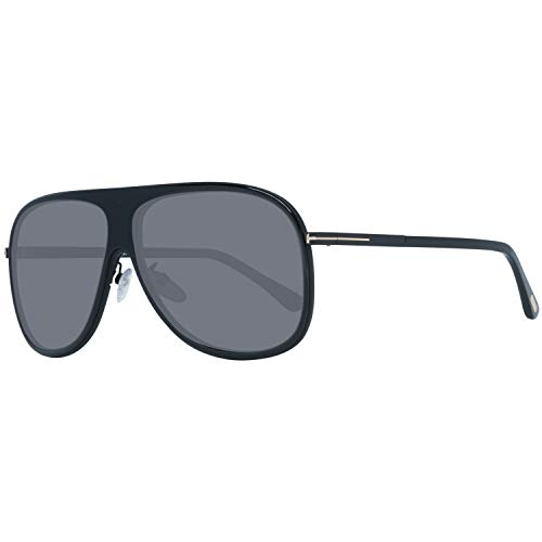 Tom Ford FT0462-F 6201D Tom Ford Sonnenbrille FT0462-F 01D 62 Aviator Sonnenbrille 62, Schwarz