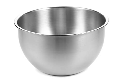 AtHomeBaking Stainless steel mixing bowl - 8 inch bowl - 3 Quart - Mixing bowls - baking bowls