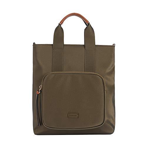 Parfois - Taschen Rucksack Pu Einfarbig Khaki - Damen - Größe M - Khaki