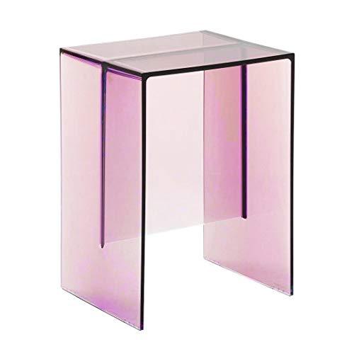 Kartell Max-Beam Hocker/Beistelltisch, Plastik, pink, 27 x 33 x 47 cm