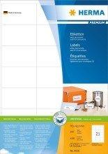 Preisvergleich Produktbild Herma Etiketten Premium A4,  weiá 70x42, 3 mm Papier matt 4200 St.