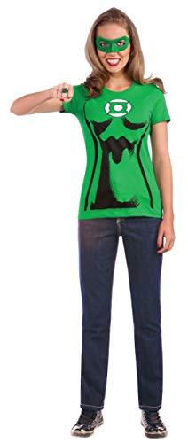 Kit disfraz de Linterna verde para mujer