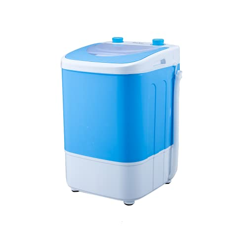 DNYKER Portable Compact Washing Machine w/Washer & Spinner, 11 lbs Washing Capacity, Stackable Washer and Dryer, Portable Washer and Dryer Combo For Apartments, Condos, RVs, Camping, Blue