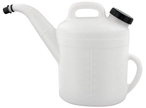 BLUREA Kanne 10 Liter Für Kühlwasser, Öl, Scheibenwischwasser, Mit Auslauf- Und Verschlussdeckel