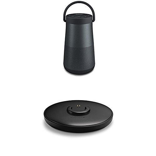 Bose SoundLink ® Revolve+ - Altavoz portátil con Bluetooth, color negro + Base de carga, color negro