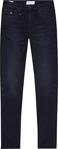 Calvin Klein Jeans Slim Jeans, Denim Scuro, 34W / 30L Uomo