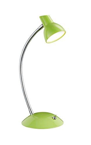 Trio Leuchten LED Tischleuchte Kolibri 527810115, Metall grün, 1x 4.4 Watt